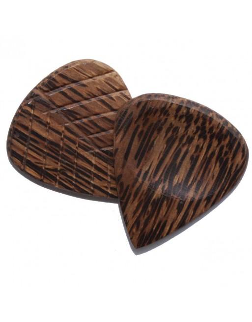 Wenge grip serie houten plectrum