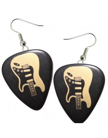 Fender Stratocaster plectrum oorbellen