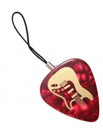 Fender Stratocaster plectrum telefoonhanger