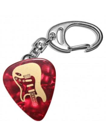 Fender Stratocaster plectrum sleutelhanger