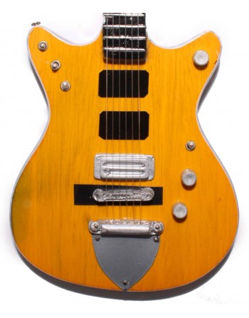 Malcolm Young AC/DC miniatuur gitaar