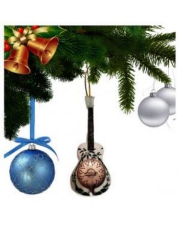 Mark Knopfler Dire Straits miniatuur gitaar kerstboomversiering