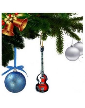 Paul McCartney The Beatles miniatuur basgitaar kerstboomversiering