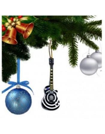 Zakk Wylde Black Label Society miniatuur gitaar kerstboomversiering