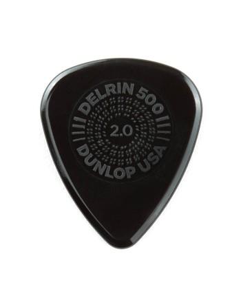 Dunlop Prime Grip Delrin® 500 plectrum 2.00 mm
