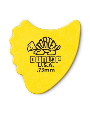 Dunlop Tortex Fin plectrum 0.73 mm