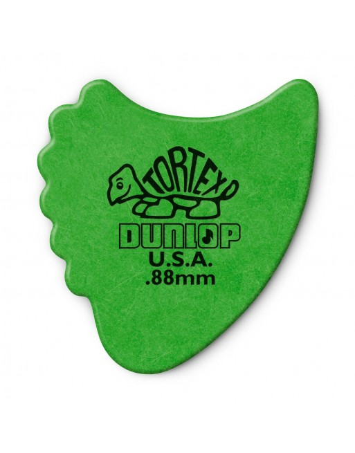 Dunlop Tortex Fin plectrum 0.88 mm