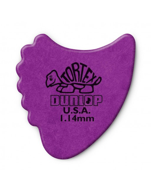 Dunlop Tortex Fin plectrum 1.14 mm