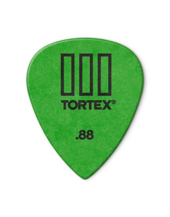 Dunlop Tortex III pick 0.88 mm