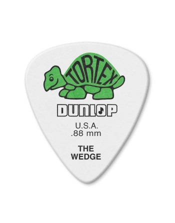 Dunlop Tortex The Wedge plectrum 0.88 mm