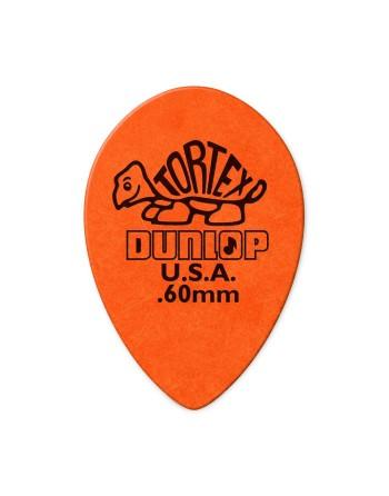 Dunlop Tortex Small Teardrop plectrum 0.60 mm