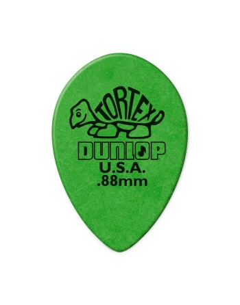 Dunlop Tortex Small Teardrop plectrum 0.88 mm
