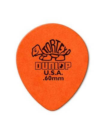 Dunlop Tortex Teardrop plectrum 0.60 mm