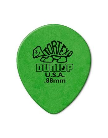Dunlop Tortex Teardrop plectrum 0.88 mm