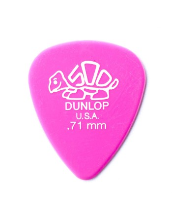 Dunlop Delrin® 500 plectrum 0.71mm