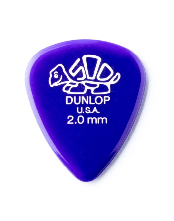 Dunlop Delrin® 500 plectrum 2.00mm