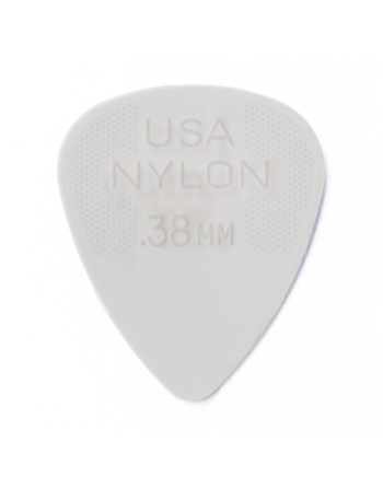 Dunlop Nylon plectrum 0.38mm