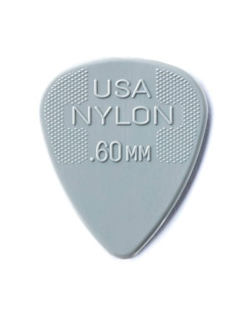 Dunlop Nylon plectrum 0.60mm