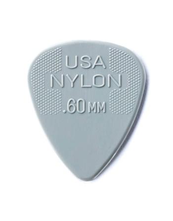 Dunlop Nylon plectrum 0.60 mm
