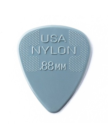 Dunlop Nylon plectrum 0.88mm