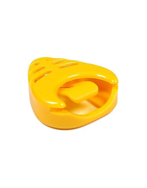 Plectrumhouder geel