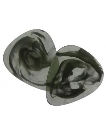 Epoxy pick dark green swirl...