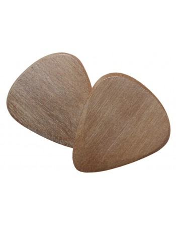 Pruim houten plectrum