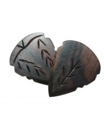 Ebony wood Jazz III grip...