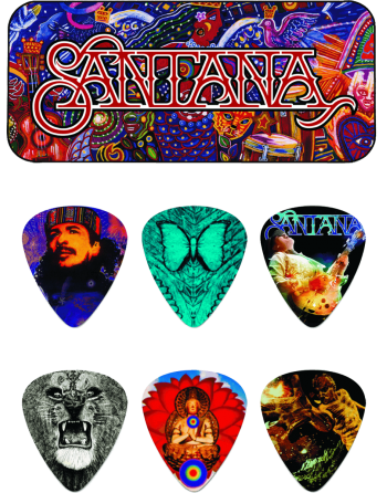 Santana storage tin with...