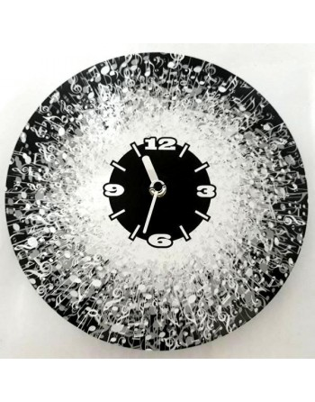 Decorative clock with music...