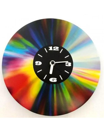 Decorative clock with CD image