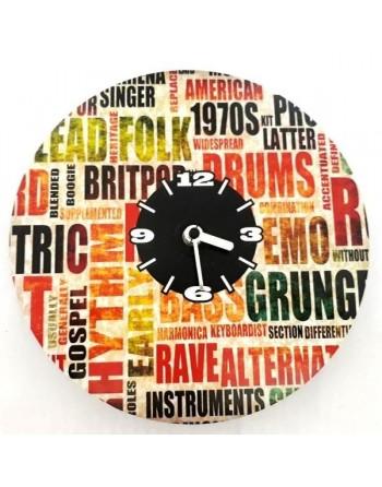 Decorative clock with music...
