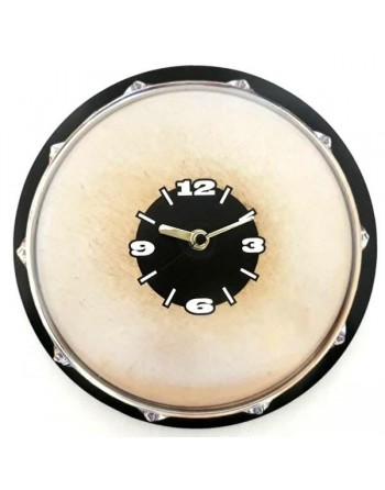 Decorative clock with snare...