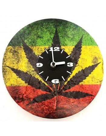 Decorative clock with hemp...