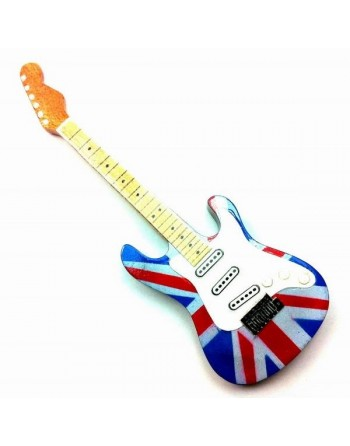 UK vlag miniatuur gitaar...
