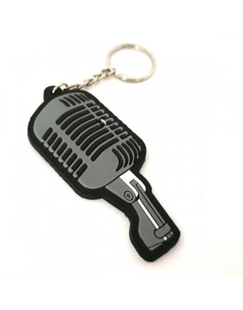 Rubber microphone guitar...