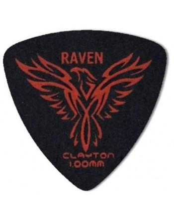Clayton Black raven rounded...