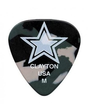 Clayton Camo guitar picks...