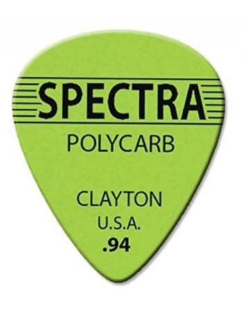 Clayton Spectra plectrums...