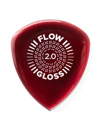Dunlop Flow Gloss pick 2.00 mm
