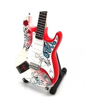 Jimi Hendrix miniature guitar