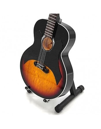 Miniatuur Gibson J-200 gitaar