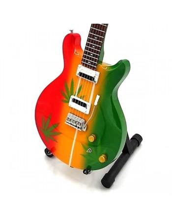 Miniatuur Rasta gitaar
