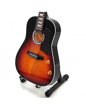Gibson J-160 miniatuur gitaar
