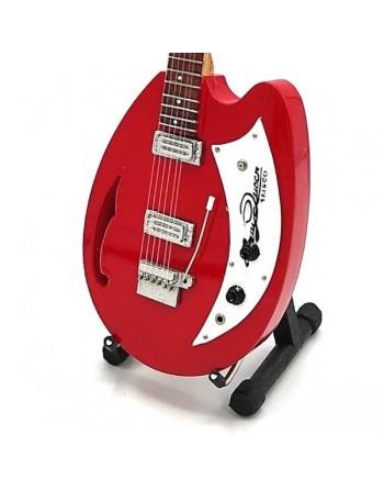 Miniatuur Teisco gitaar