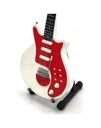 Miniatuur Special White gitaar