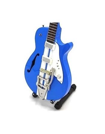 Miniatuur Duesenberg gitaar