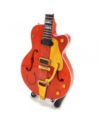 Eddie Cochran miniature guitar