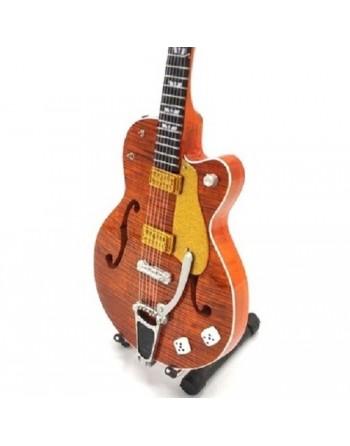 Miniatuur Gretsch G6120 gitaar