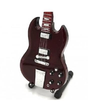 Miniatuur Gibson SG gitaar